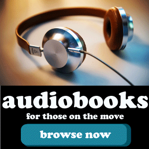 Audiobooks: for those on the move!