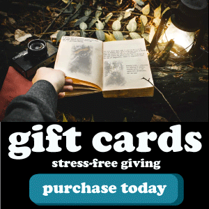 Gift Cards: stress-free giving.
